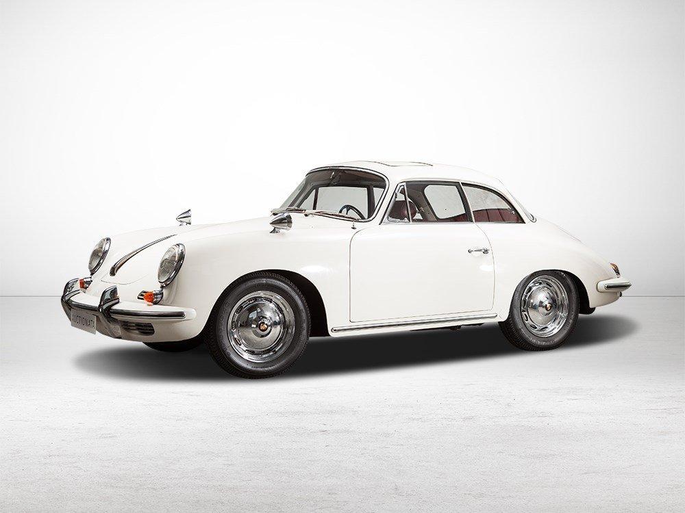 Porsche 356 B 1600 Karmann Hardtop, Model Year 1961