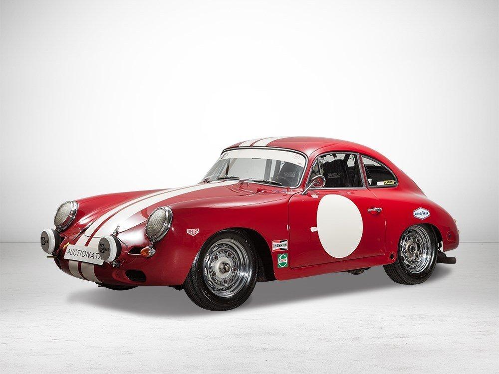 Porsche 356B T5 CUP, Bernauer Engine and Halda