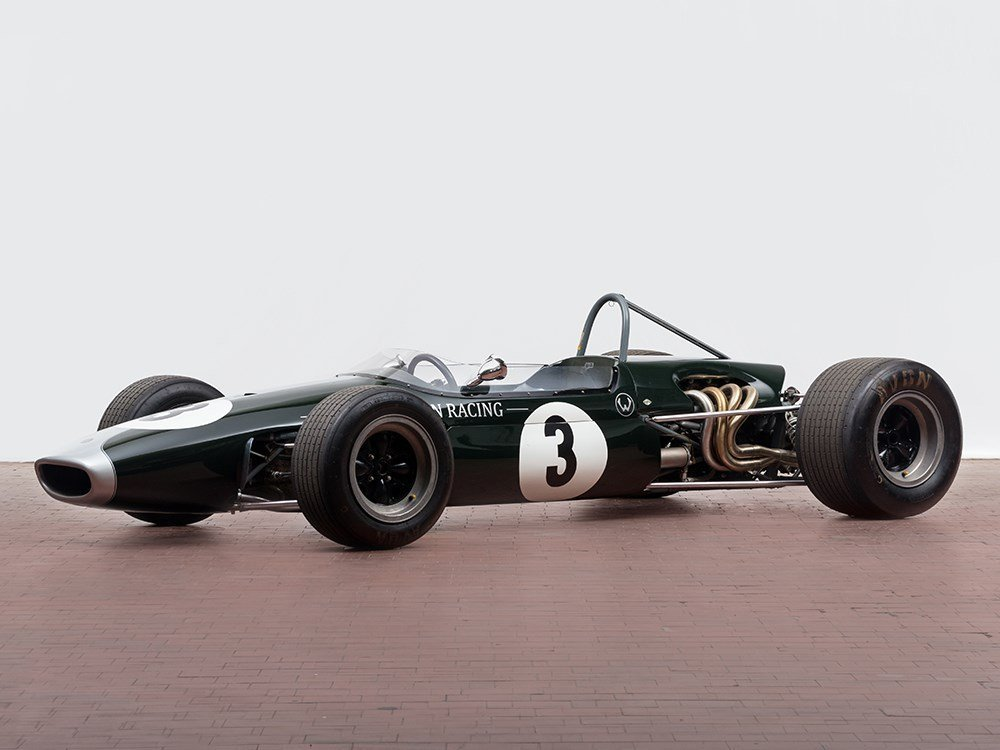 Brabham Formula 2 Racing Car of Jochen Rindt, Model