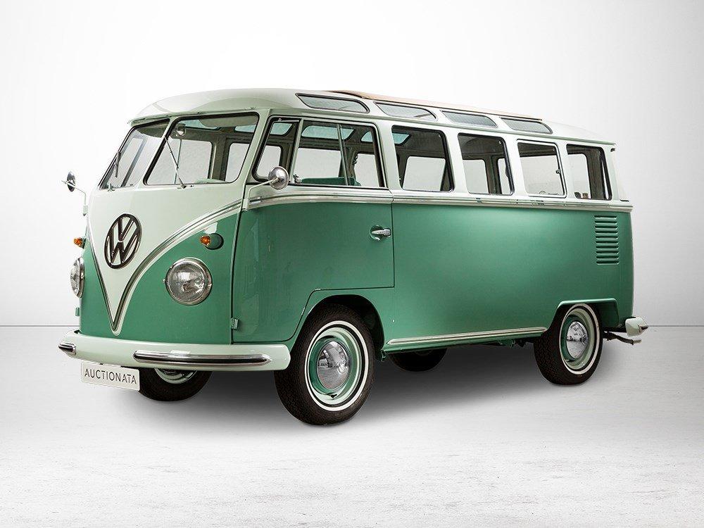VW Samba Bus Type 24 with 23 Widows, Model Year 1963