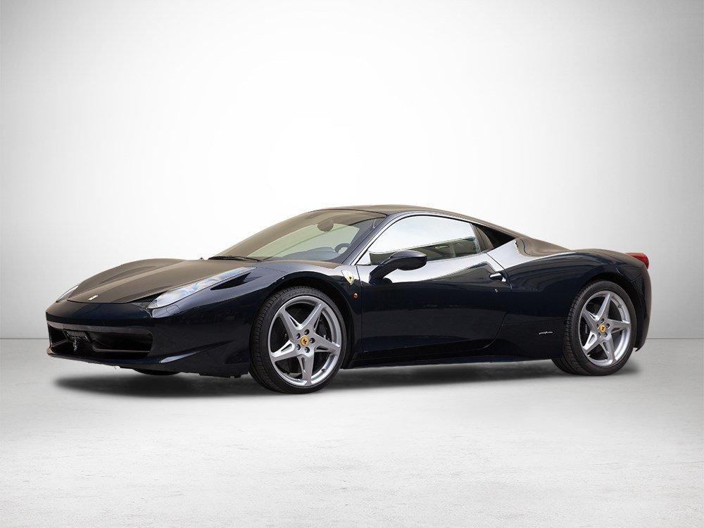 Ferrari 458 Italia 4.5 Liter V8, Model Year 2010