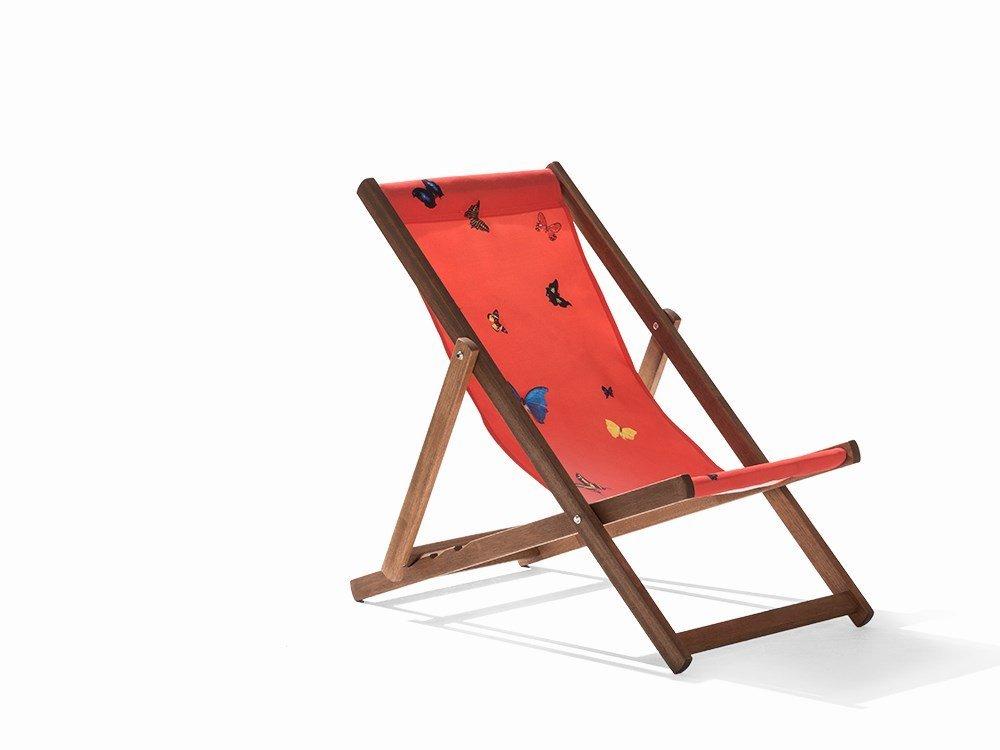 Damien Hirst, Deckchair, Merpauh & Printed Sailcloth,