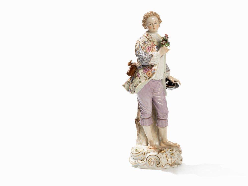 Meissen, Gardener's Figure, Early 20th C.