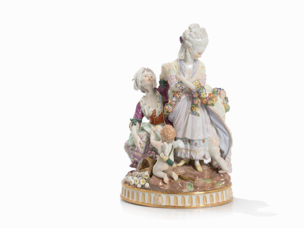 Meissen, Group of Figures 'The Broken Eggs', 1774-1814