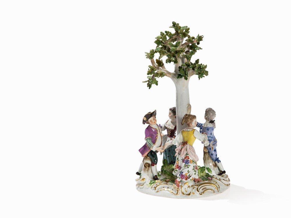 Meissen, Figural Group 'Children's Roundel', 2nd Half