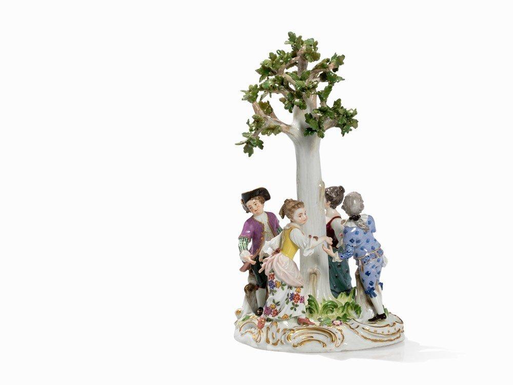 Meissen, Figural Group 'Kinderreigen', 2nd Half 19th C.