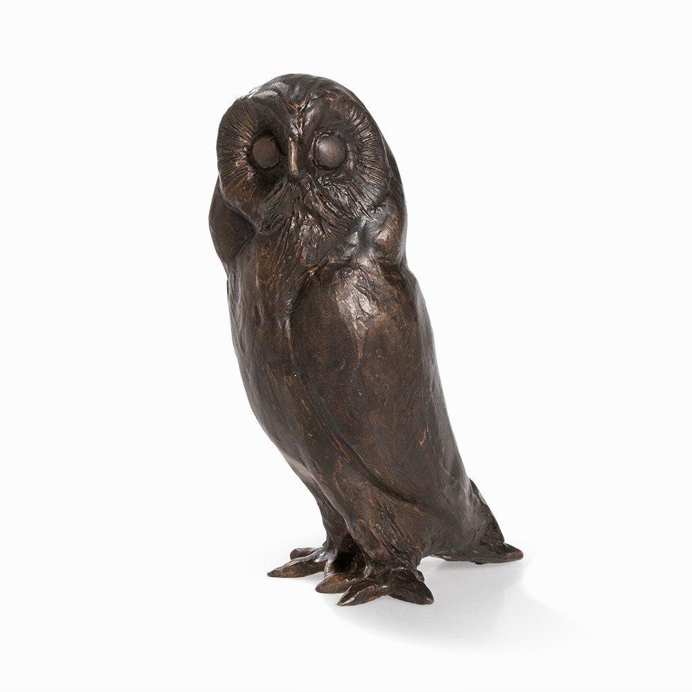 Kurt Arentz, Owl, Bronce Sculpture, Germany, circa 1990 - 8