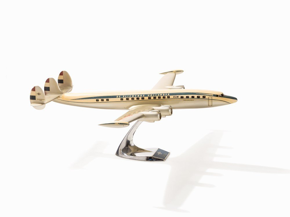 KLM Airplane Modell Lockheed L1049 Super Constellation,