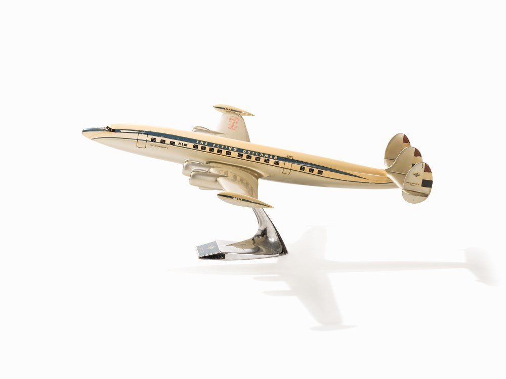 KLM Airplane Modell Lockheed L1049 Super Constellation, - 2