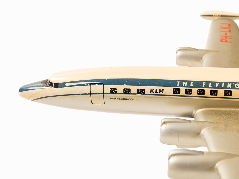 KLM Airplane Modell Lockheed L1049 Super Constellation, - 3