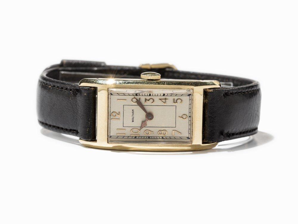 Waltham Women's Wristwatch, 14K Gold, USA, around 1940