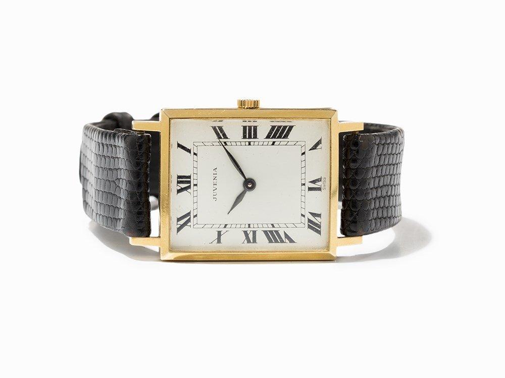 Juvenia, 18K Gold-Plated Men's Wristwatch, Switzerland,