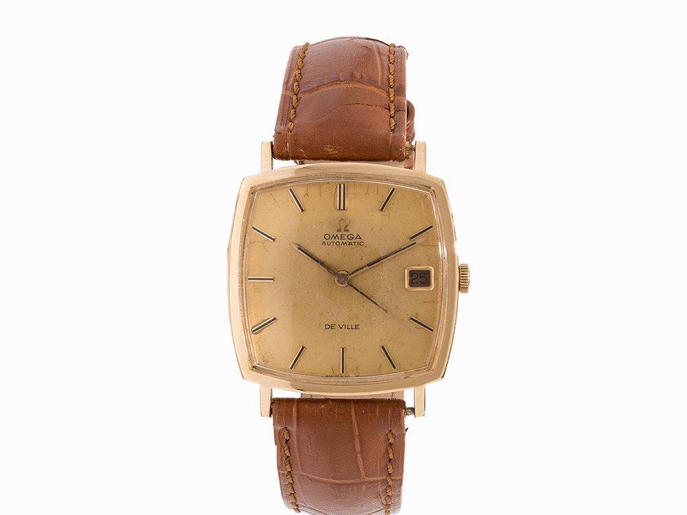 Omega De Ville Gold Wristwatch, Switzerland, c. 1960