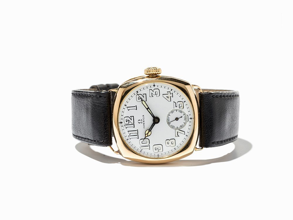 Omega, Early Wristwatch, Switzerland, C. 1917