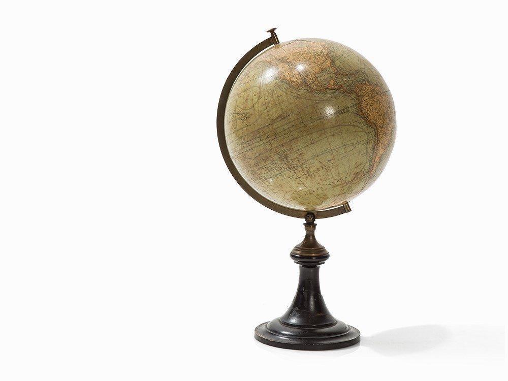 A Physical Terrestrial Globe, Paris Meridian, Paris,