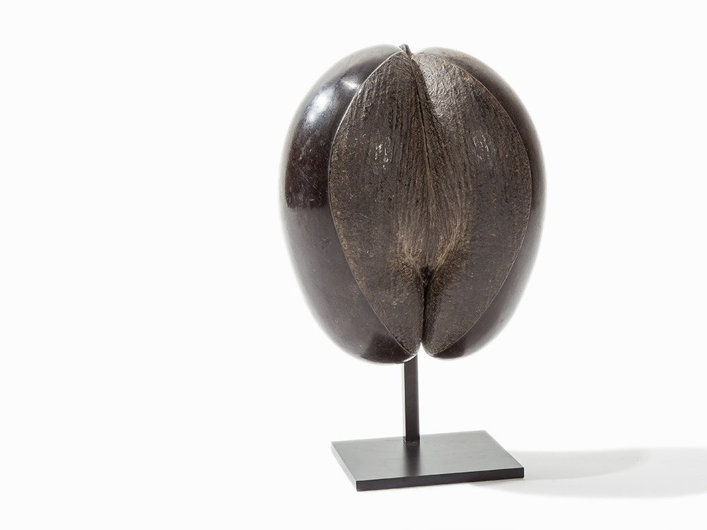 Coco de Mer with Iron Base, Seychelles, 19th/20th