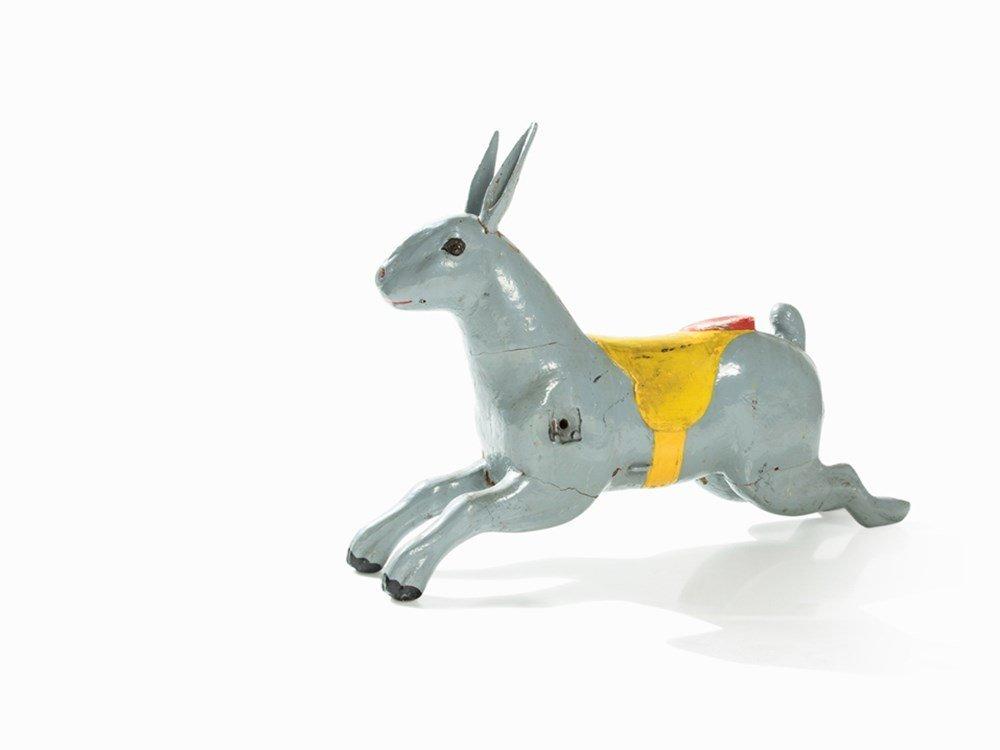 Carousel Figure of a Rabbit, Firma Heyn, Germany, circa