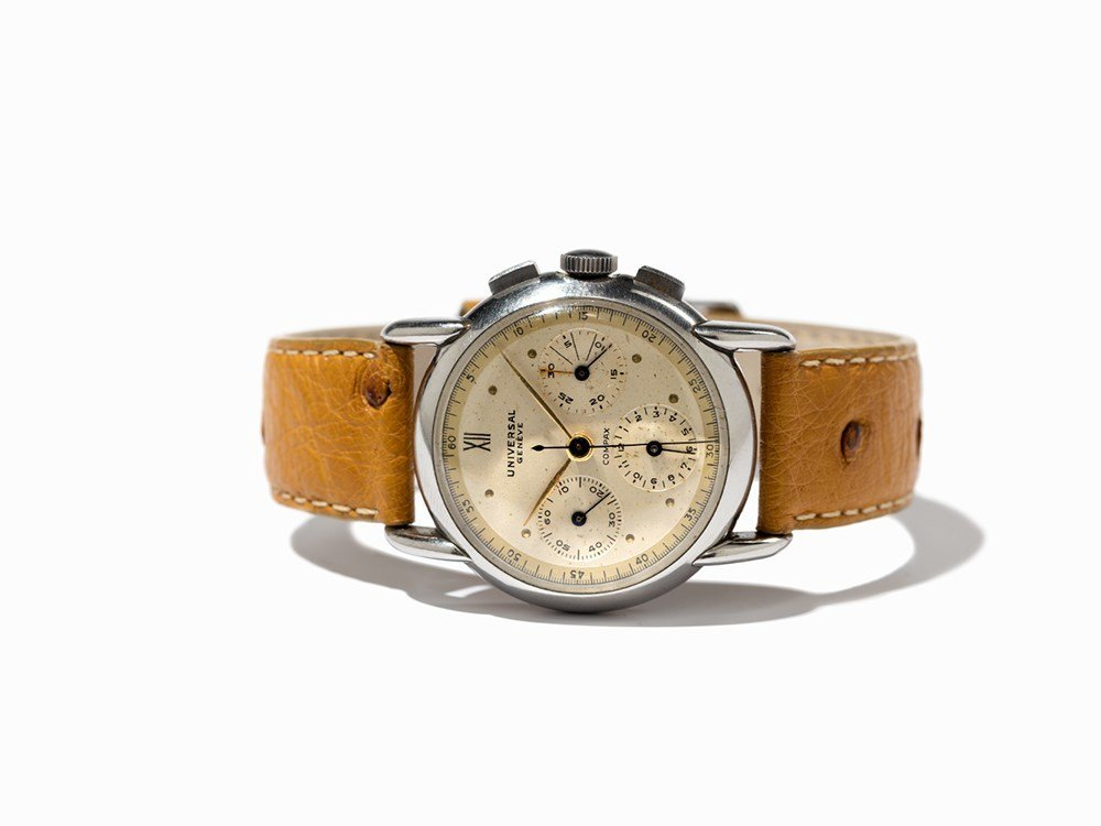 Universal Compax Chronograph, Switzerland, Around 1950