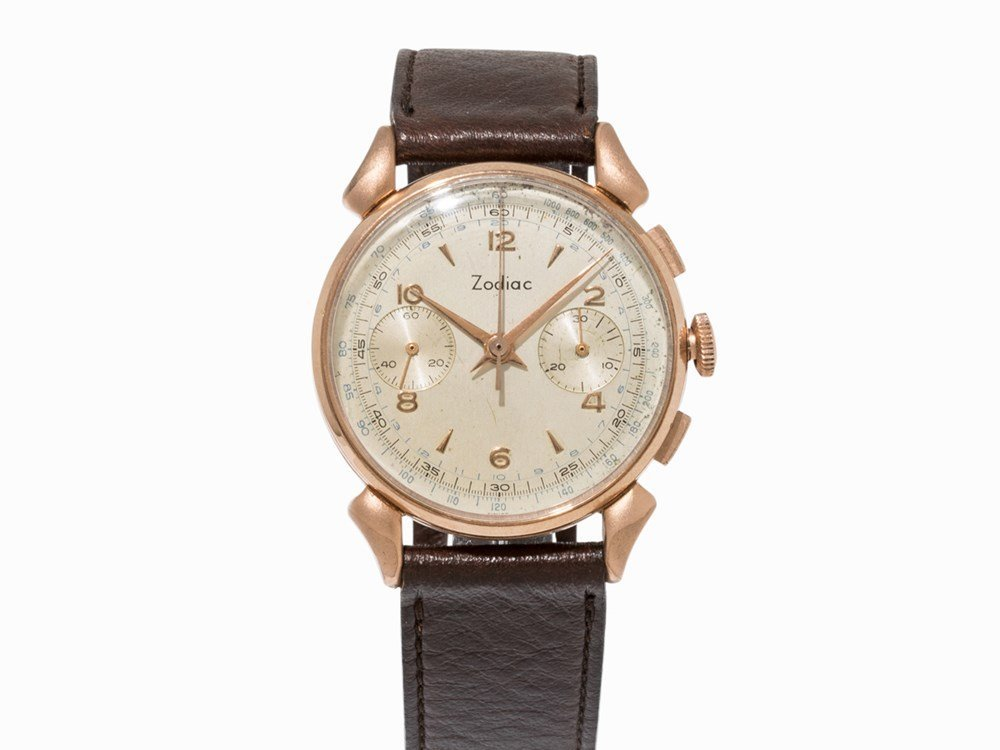 Zodiac Chronograph, Switzerland, c. 1960