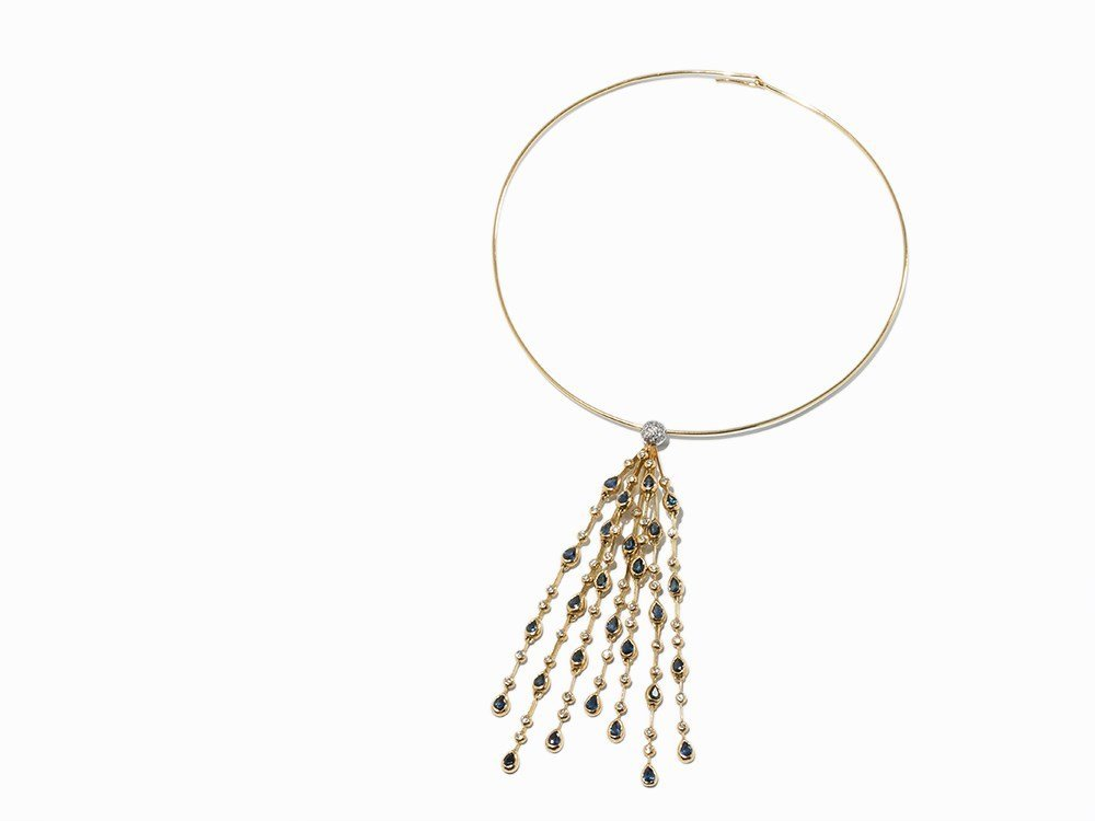 Atelier Boltenstern, 'Waterfall' Necklace, 18K Gold