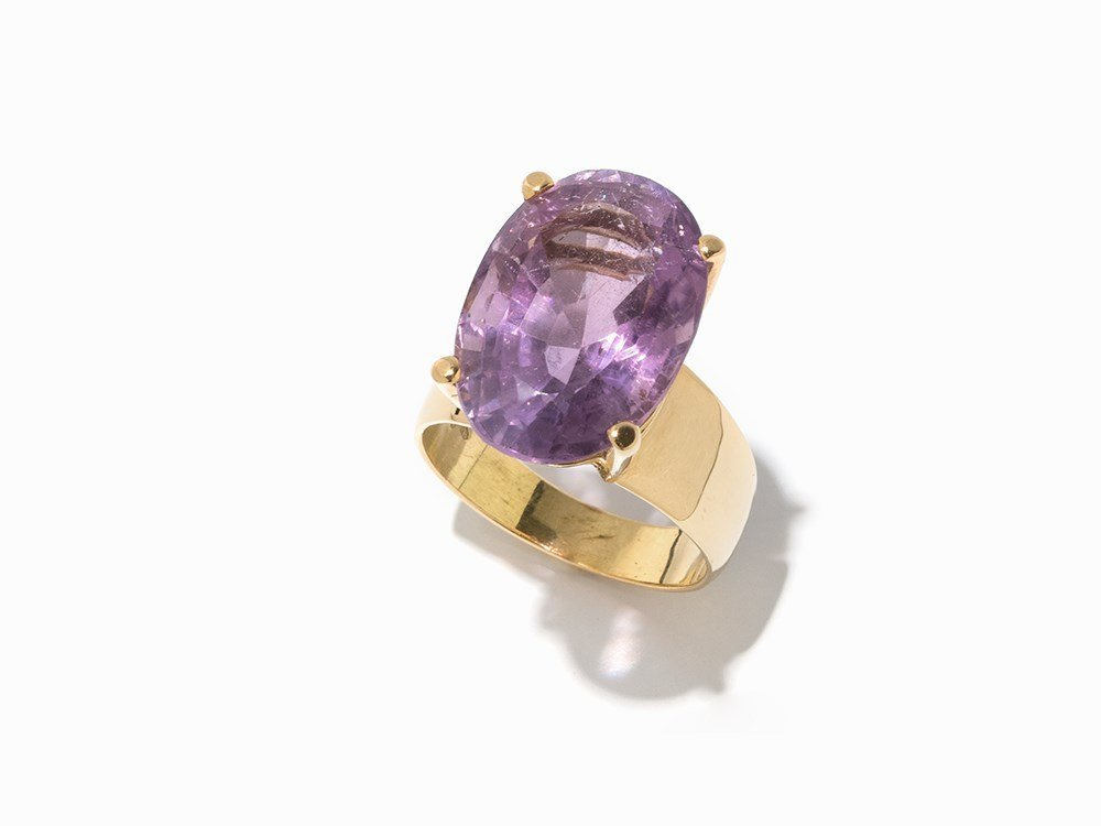Atelier Sven Boltenstern, Solitaire Ring with Amethyst,
