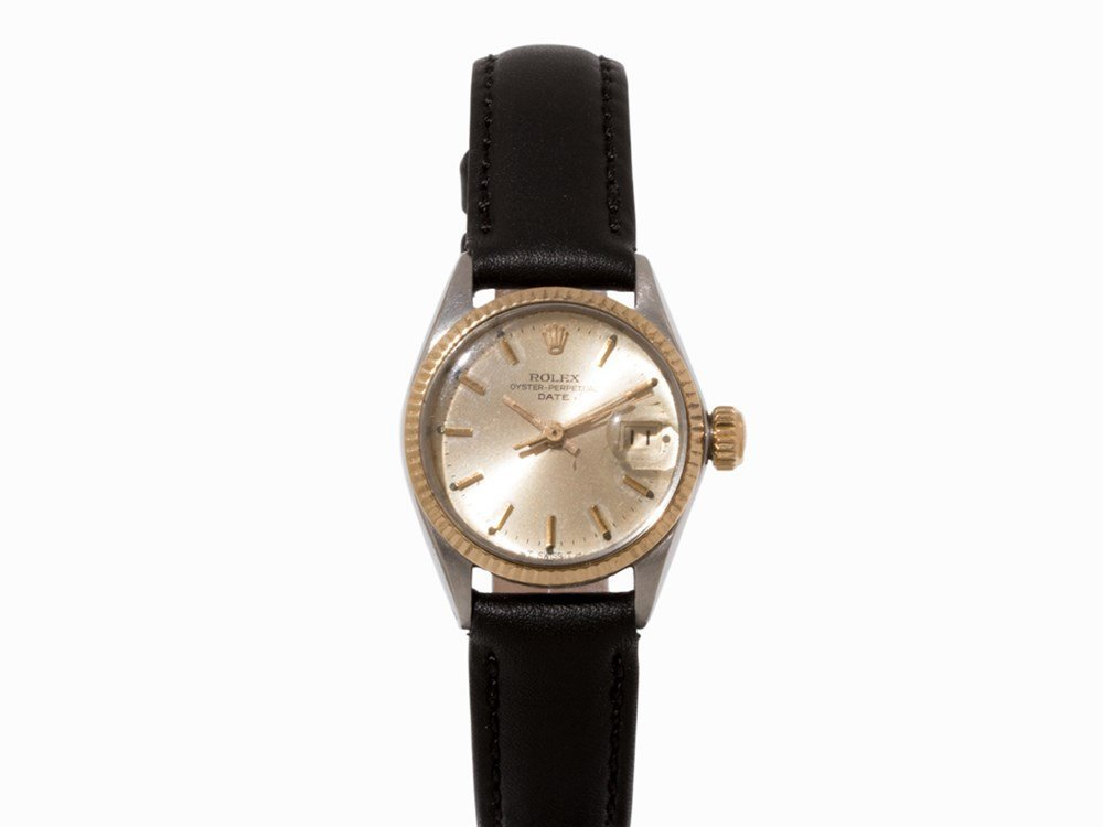 Rolex Date Ladies' Watch, Ref. 6517, c. 1965