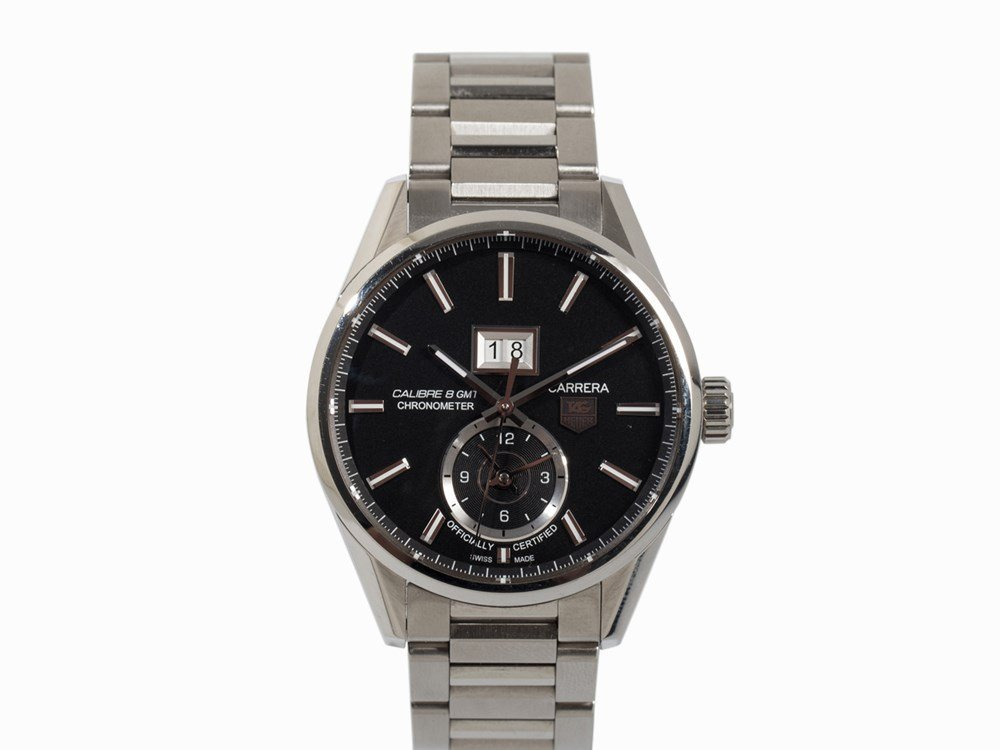 Tag Heuer Carrera Calibre 8 GMT Watch, Switzerland,