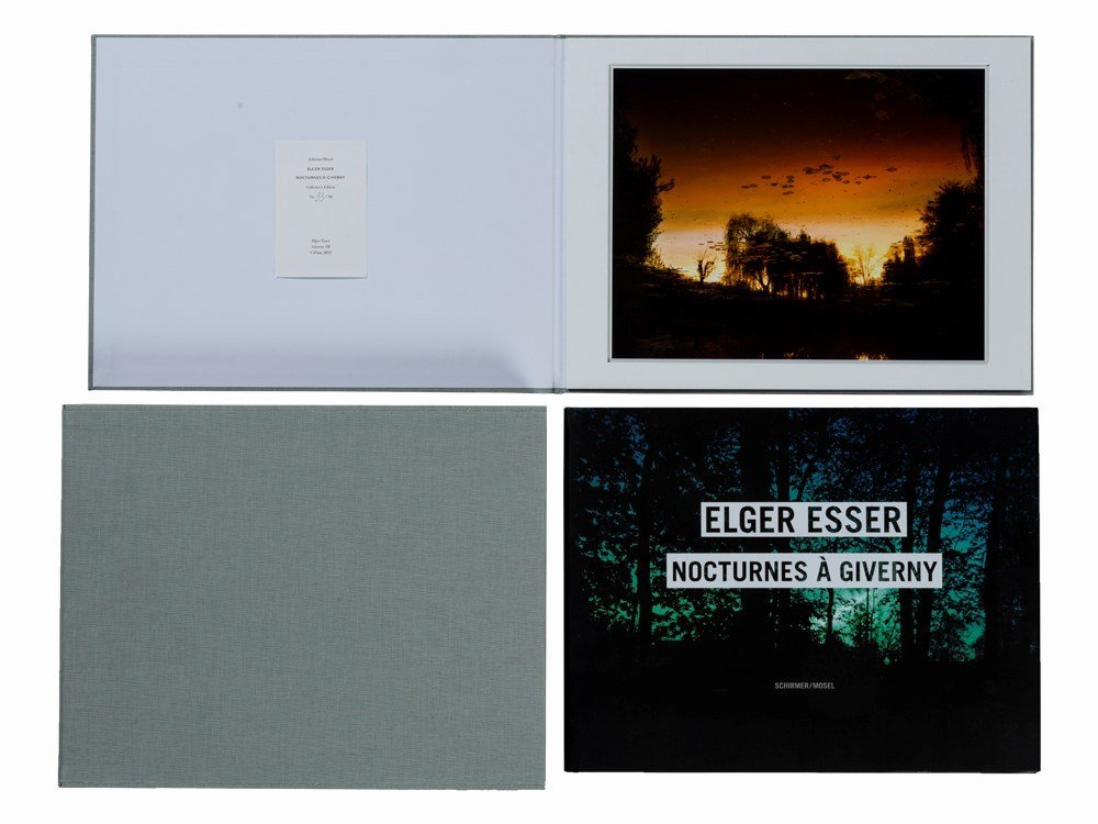 Elger Esser, Nocturnes à Giverny, Collector's Edition,
