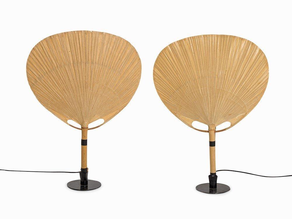 Ingo Maurer, A Pair of Table Lamps 'Uchiwa', Design M.,