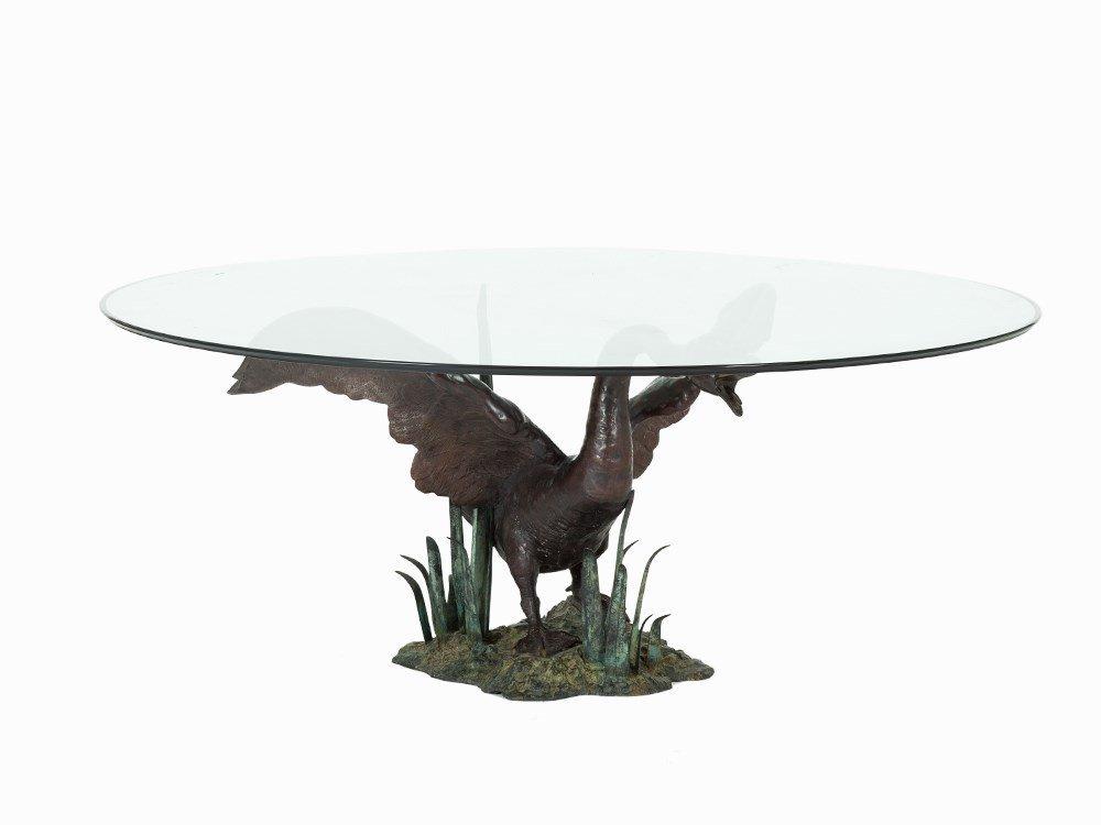 Valentí, Monumental Swan Table, Spain, 1960s