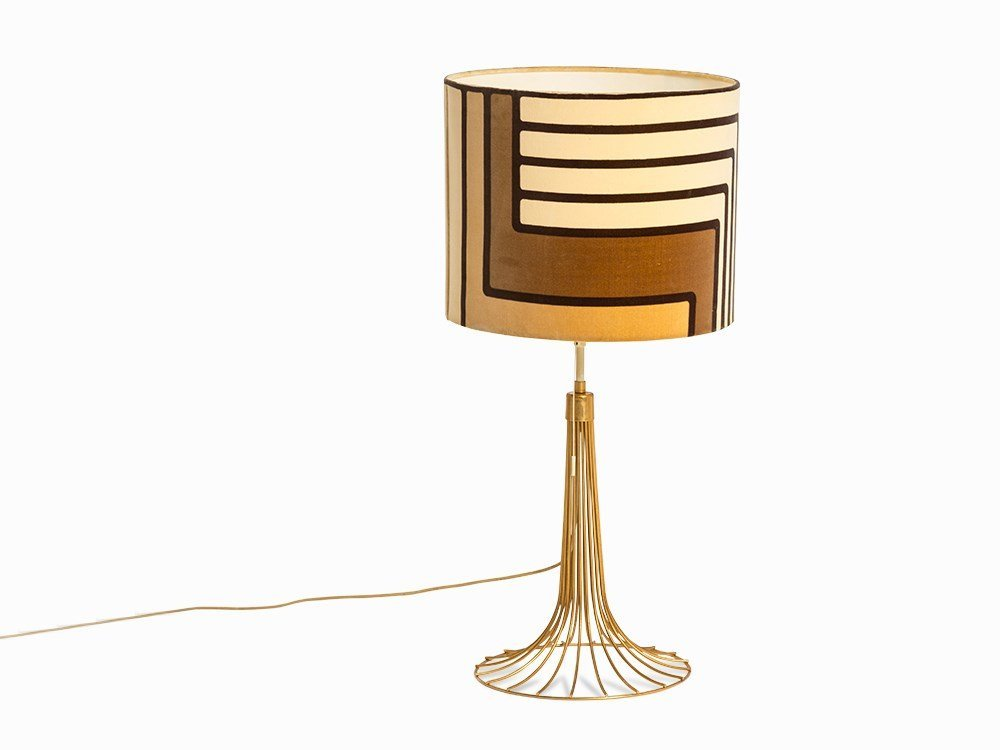 Large Table Lamp, Denmark, c. 1970