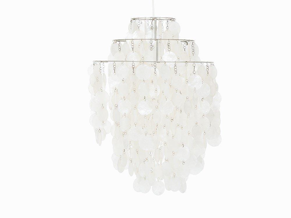 Verner Panton, Ceiling Lampe 'Fun', Luber, 1964