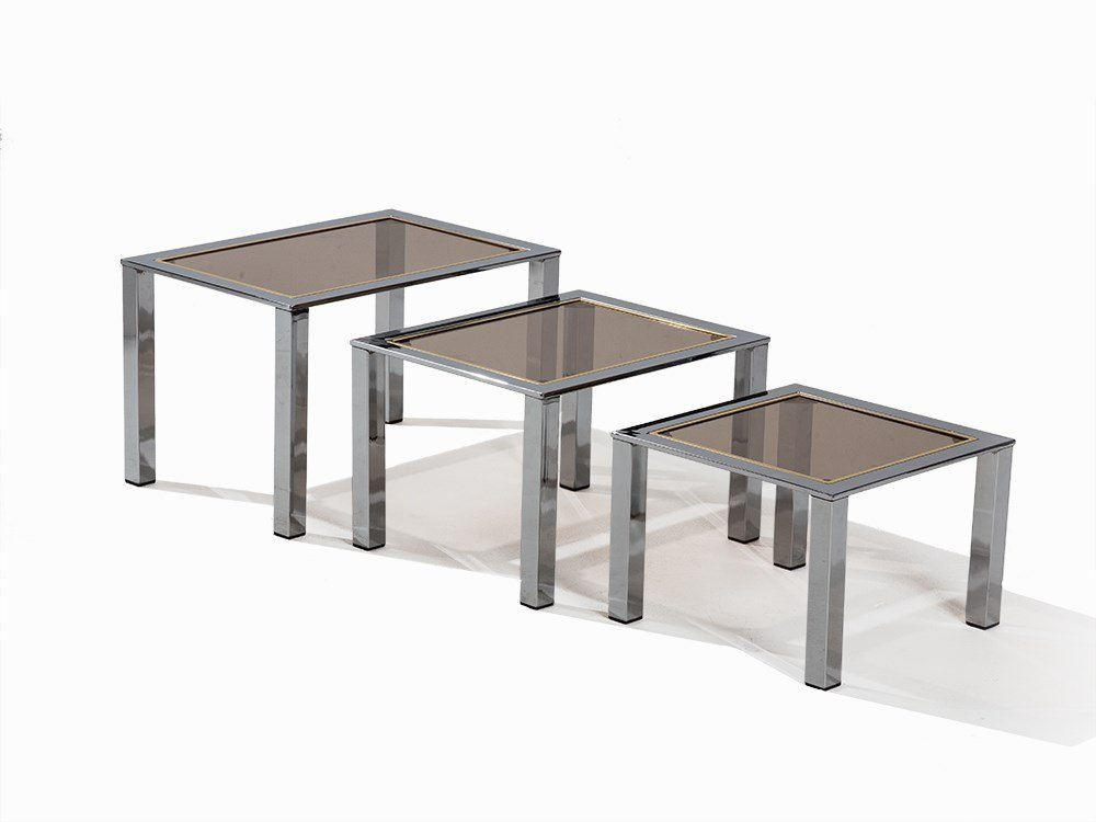 Hollywood Chic Nest of Three Tables, France / Belgium,