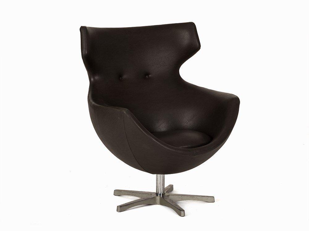 Pierre Guariche, Egg Chair, Meurop, France, 1960s