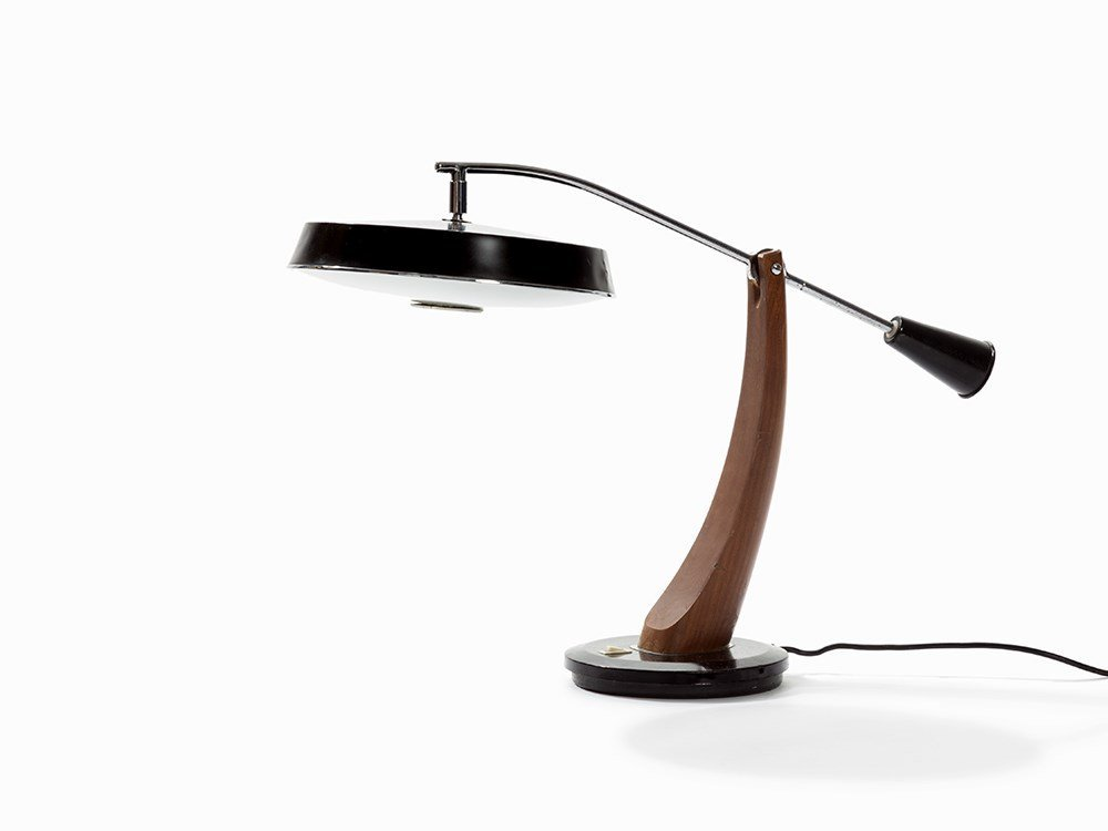 FASE, President Péndulo Office Table Lamp, 1960s