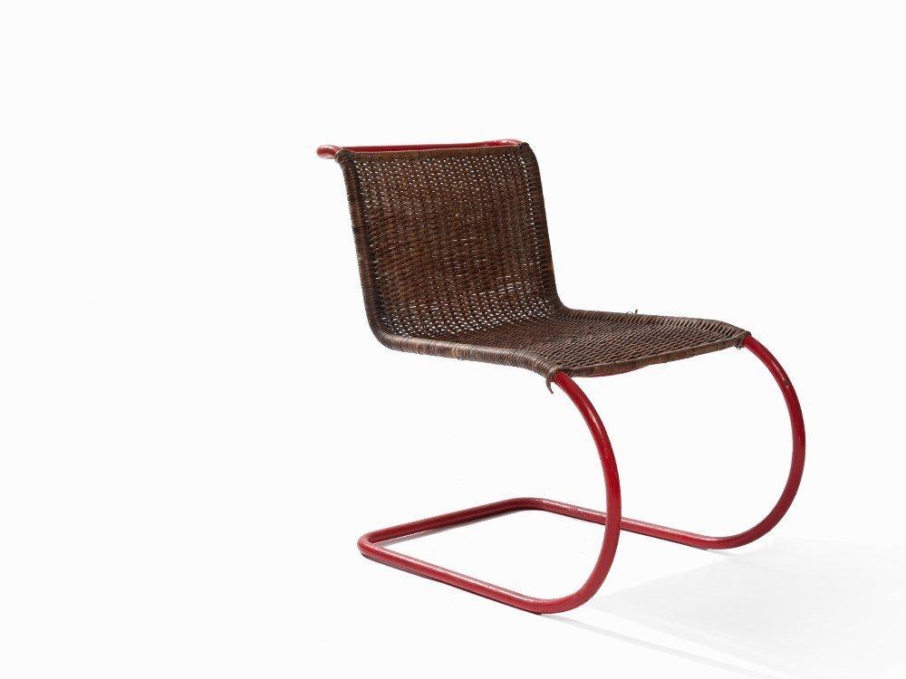 Mies van der Rohe, Weißenhof Chair MR 10, Thonet, 1927