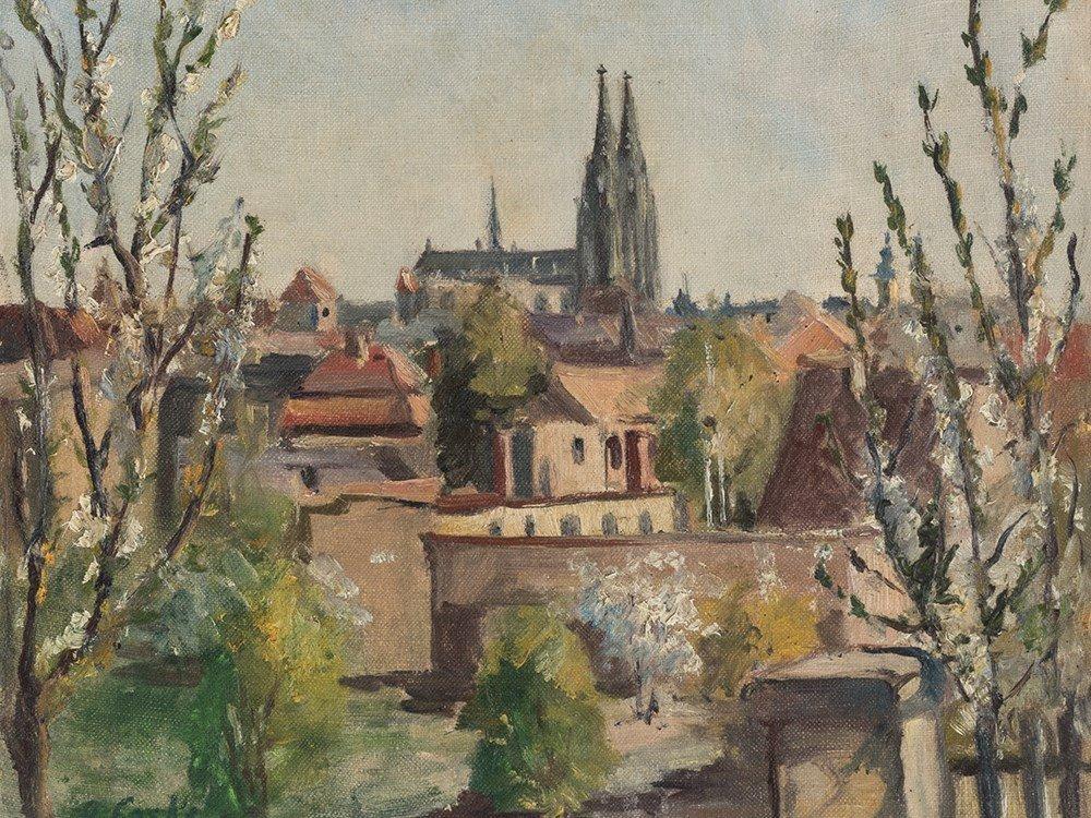 Oskar Laske, Braunschweig, Oil, circa 1900