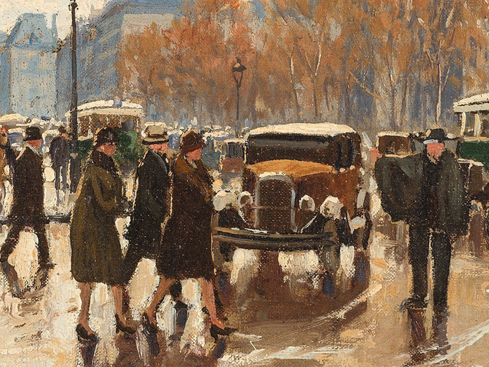 Henry Malfroy, Paris, La Tour Saint Jacques, Early 20th