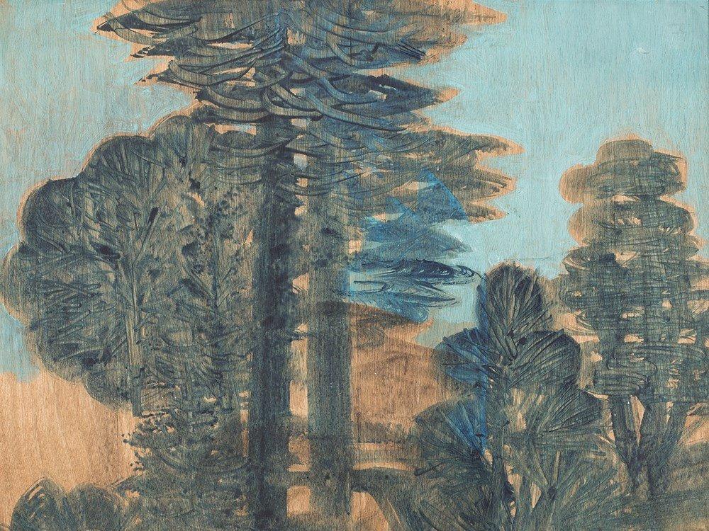 Hans Christof Drexel (1886-1979), Boscage, Painting, c.
