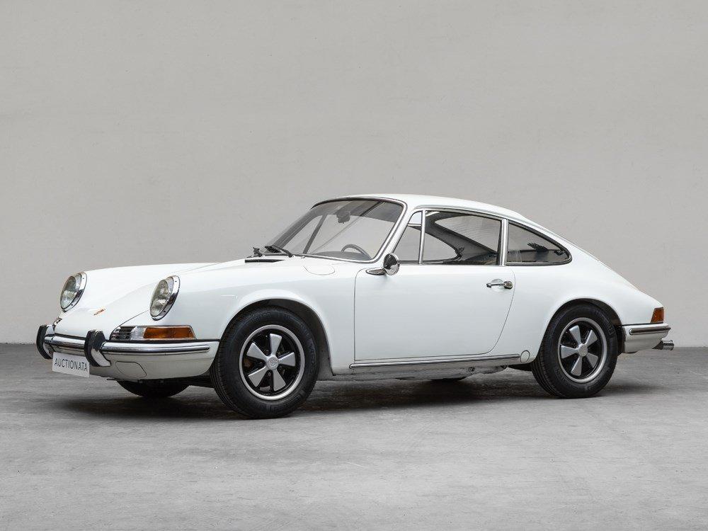 Porsche 911 T Coupe, Model Year 1970