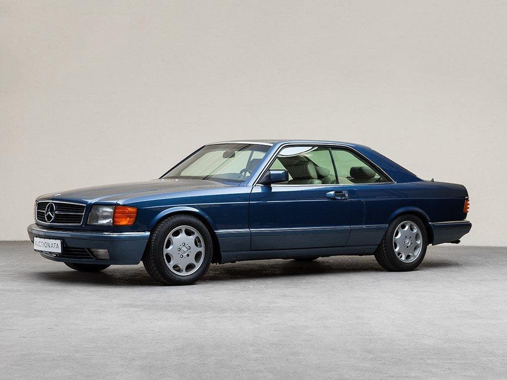 Mercedes-Benz 420 SEC, Baujahr 1991