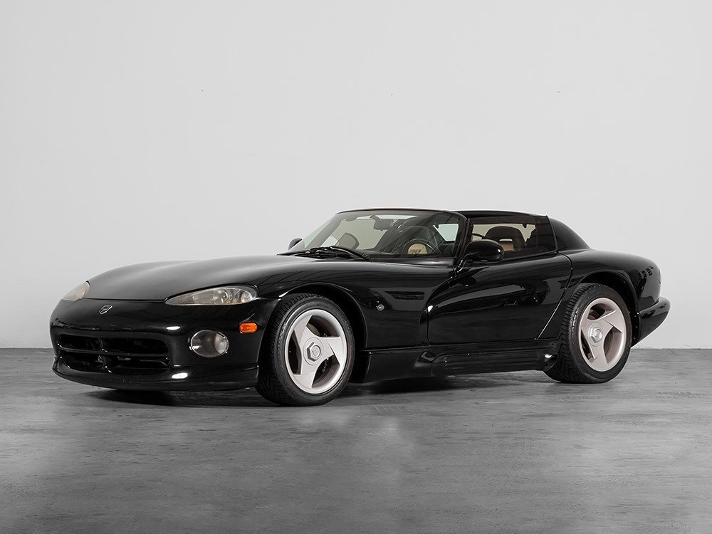 Dodge Viper RT 10 from the Sultan of Brunei, 1993