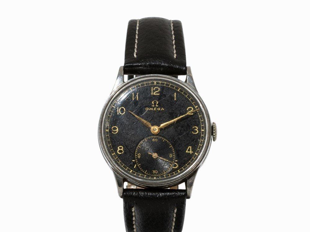 Omega wrist watch, c. 1935
