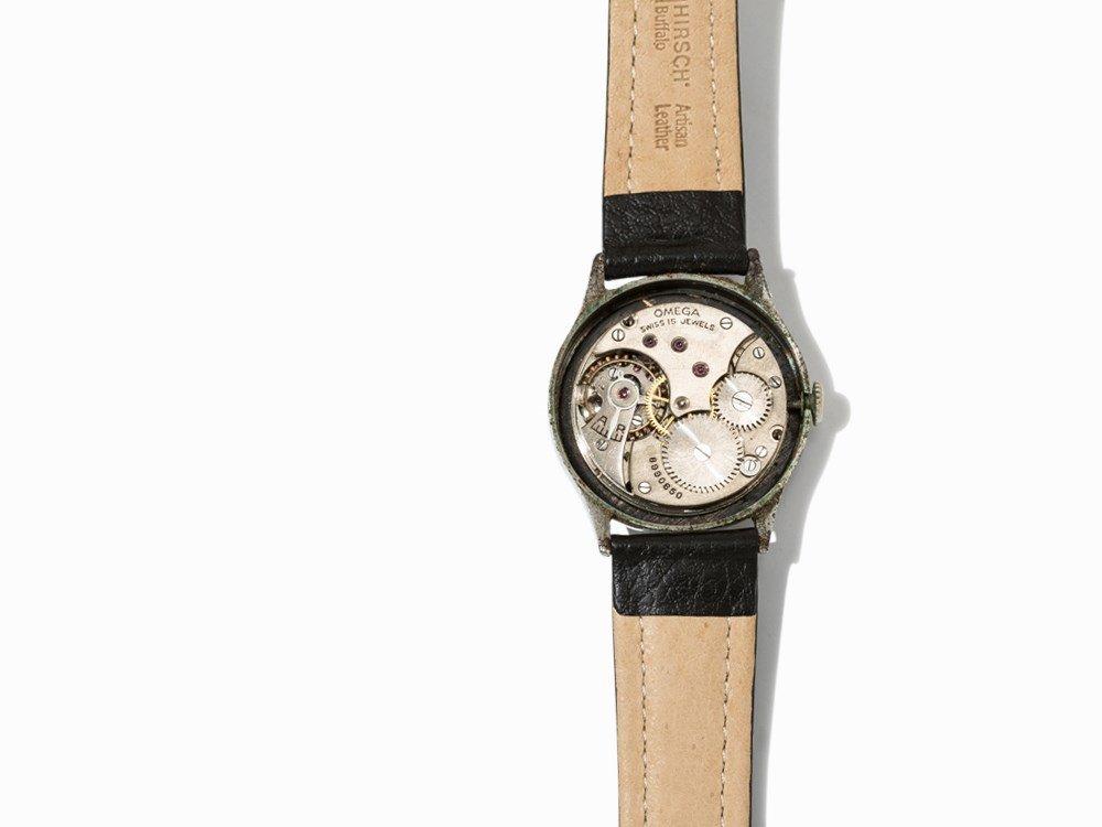 Omega wrist watch, c. 1935 - 3