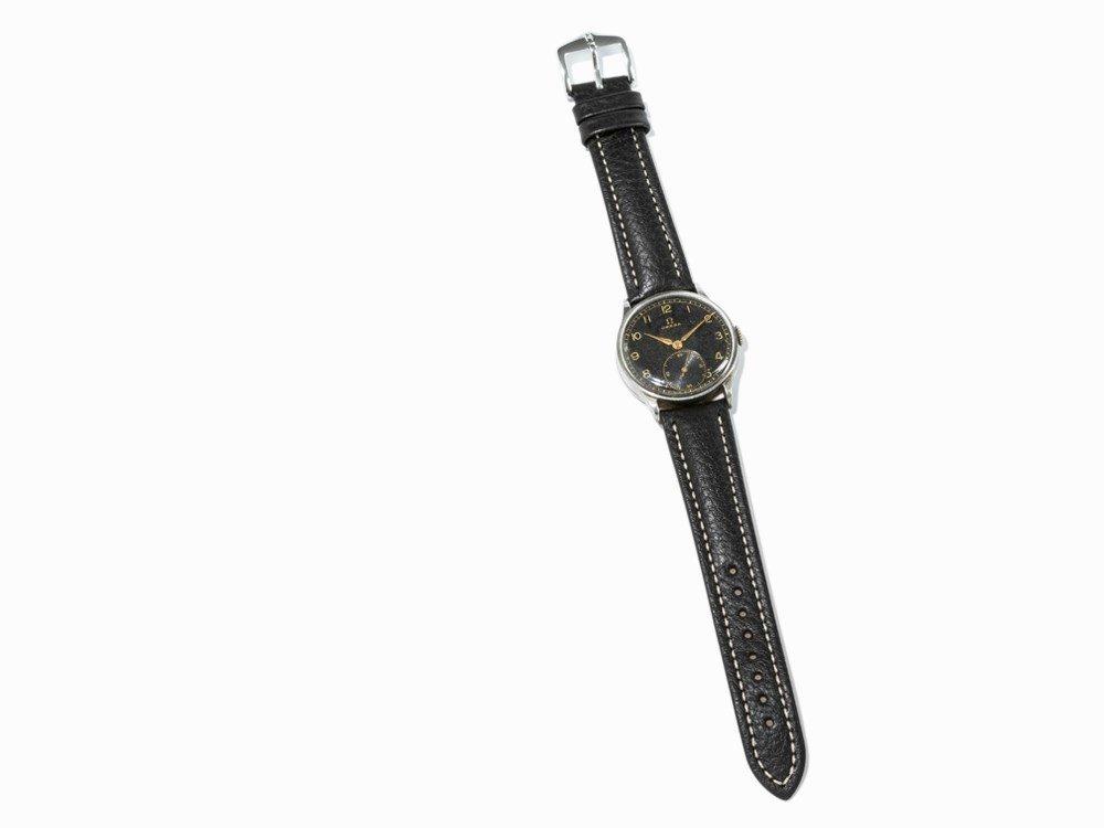 Omega wrist watch, c. 1935 - 6