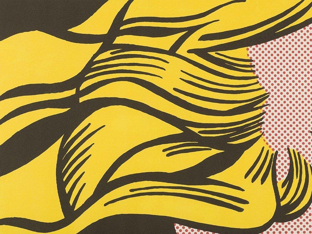 Roy Lichtenstein, Crying Girl, Offset Lithograph in - 4