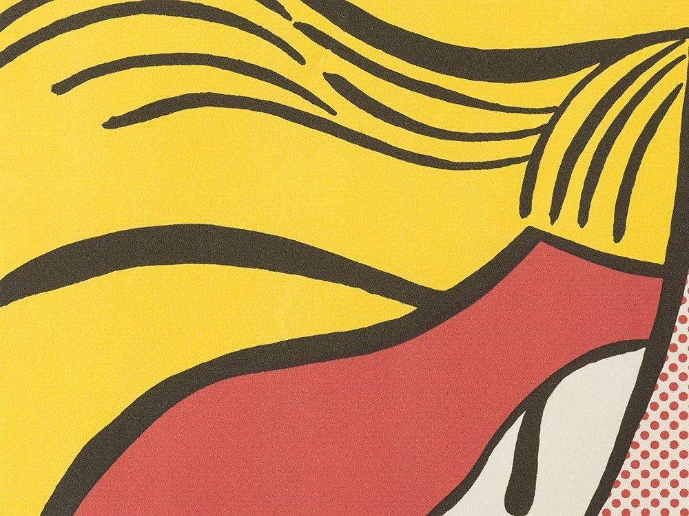 Roy Lichtenstein, Crying Girl, Offset Lithograph in - 6