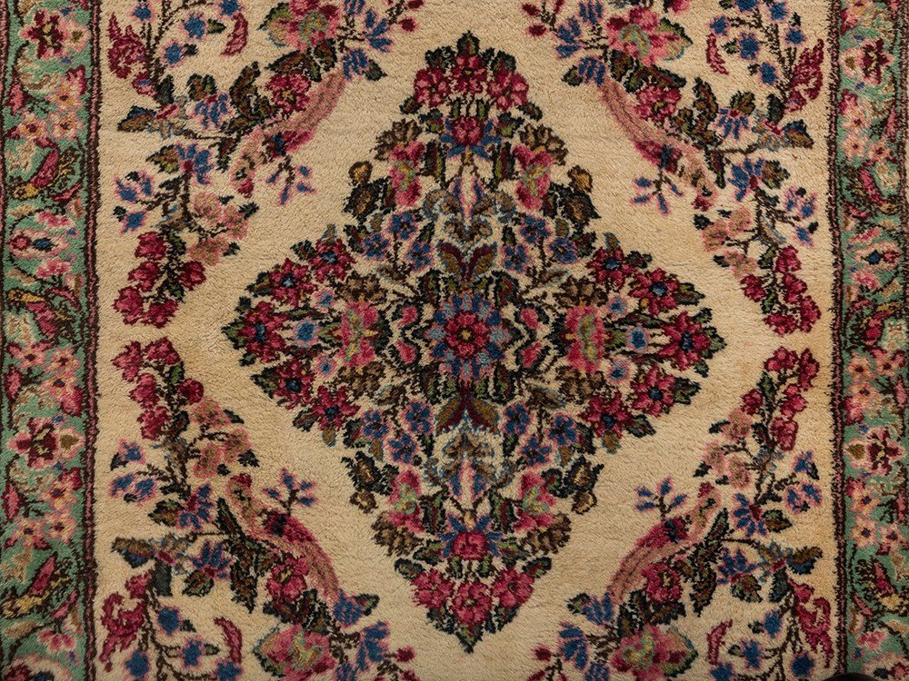Persian Lawer Rug with a Flower Pattern, Iran - 2