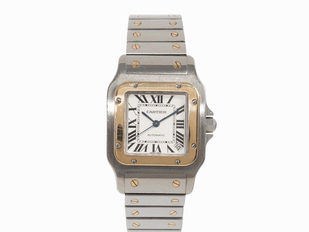 Cartier Santos Automatic Wristwatch, Ref. W20099C4,