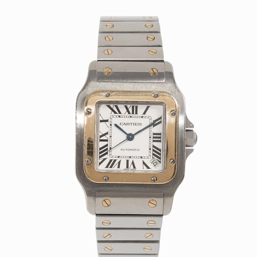 Cartier Santos Automatic Wristwatch, Ref. W20099C4, - 6